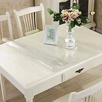Защита на стол Мягкое стекло Прозрачная силиконовая скатерть 3 в 1 70*70