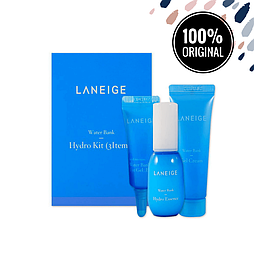 Набор из миниатюр увлажняющих средств LANEIGE Water Bank Hydro Essence + Gel Cream + Eye Gel EX