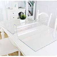 Мягкое стекло Прозрачная силиконовая скатерть 80*80 см Выгодное предложения