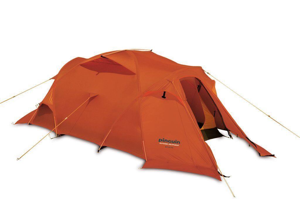Палатка трехместная Pinguin - Sphere Extreme Orange, 3-местная (PNG 142)