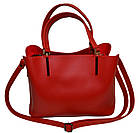 Женская сумка красная Zara (23*30*13), фото 3