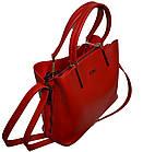 Женская сумка красная Zara (23*30*13), фото 4