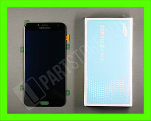 Дисплей Samsung j400 Black j4 2018 (GH97-21915A) сервисный оригинал, фото 2