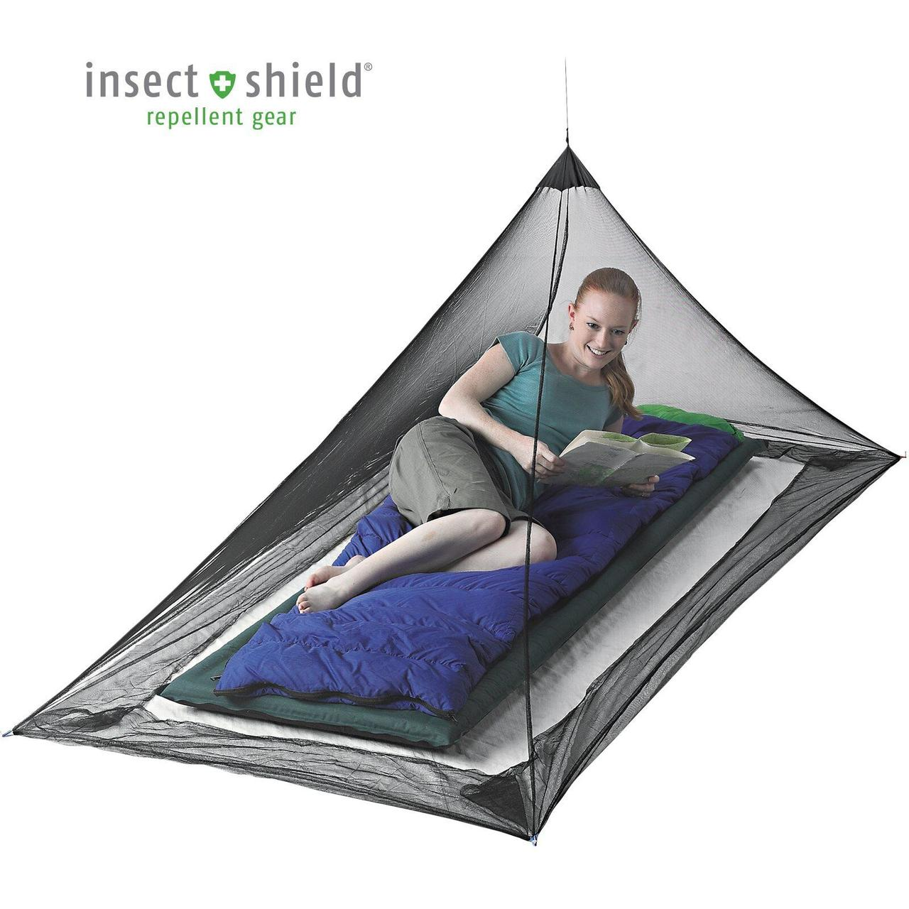 Сетка от комаров Sea To Summit - Mosquito Net Single Permethirin Black (STS AMOSSP)