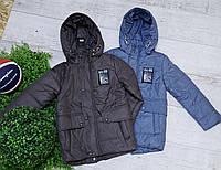 """Куртка для мальчика  код """"673"""" весна-осень, размеры на рост от 116 до 134 примерный возраст от 5 до 9 лет"""