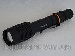 Фонарик тактический ручной светодиодный Police BL-2804 Т-6, COP-258000W, Zoom, Black