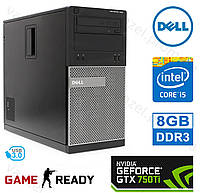 Dell OptiPlex 7010 - Intel Core i5-3570/ 8GB DDR3/ GeForce GTX750Ti 2GB/ 500GB HDD Системный блок, Компьютер