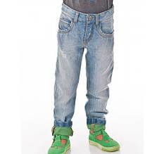 Тонкие детские джинсы для мальчика BRUMS Италия 151BFBF006 Голубой