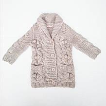 Детский кардиган для девочки Одежда для девочек 0-2 BRUMS Италия 133BEHC008