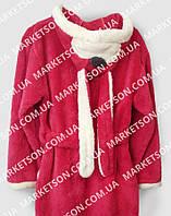 Дитячий махровий халат з вушками Зайка для дітей від 4 до 6 років