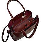 Женская сумка бордовая Zara (23*30*13), фото 2