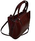Женская сумка бордовая Zara (23*30*13), фото 4