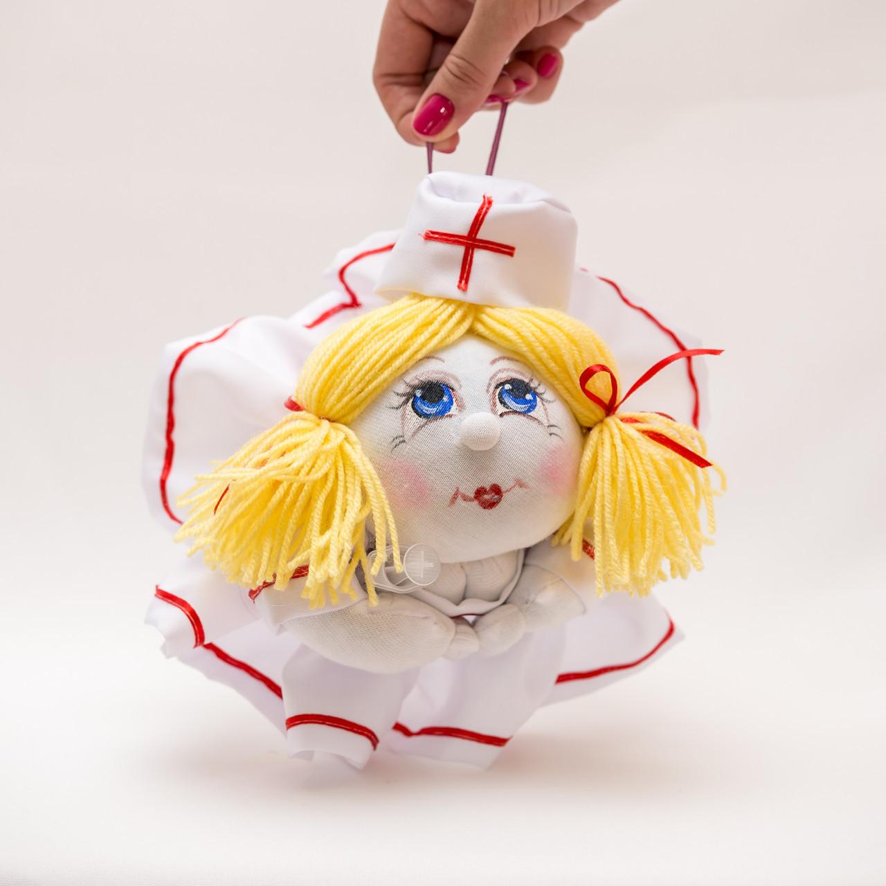 Кукла попик Vikamade  медработник