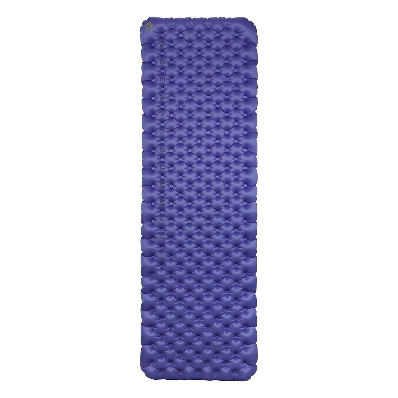 Надувной коврик Sea To Summit - Air Sprung Comfort Deluxe Insulated Mat Blue, 186 см х 64 см х 8 см (STS AMCDINSRW)(Длина 186 см)