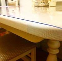 Прозрачная силиконовая скатерть 130*50 см