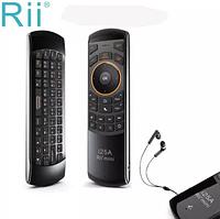 Rii mini i25A пульт з гіроскопом +мікрофон +голос пошук 2.4 G Оригінал, фото 1