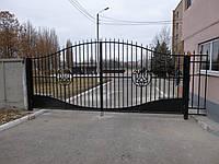 Ворота и ограждения прозрачные сварные