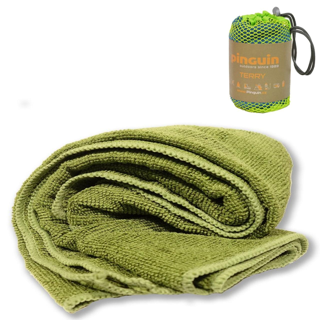 Полотенце Pinguin - Terry towel Olive 40х40 cm, S (PNG 656.Olive-S)(Размер, см 40 х 40)