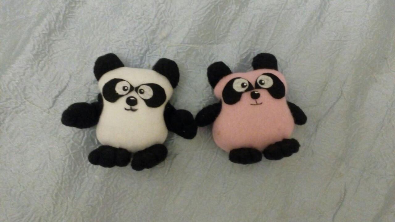 Панда магнит