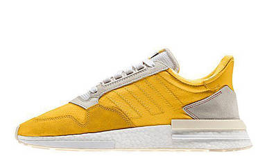 Женские кроссовки Adidas Zx500RM Yellow