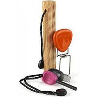 Дрова, огниво, вилка для барбекю Light My Fire - FireLighting Kit Fuchsia/Orange (LMF 50679340), фото 1