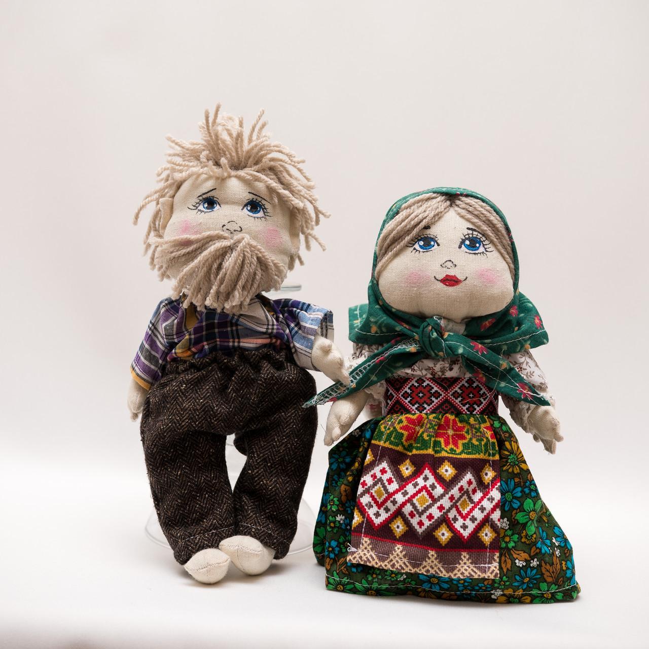 Куклы Vikamade ДЕД и БАБА