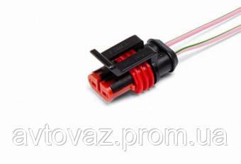 Разъем 4 контактный, ответная часть Cargen АХ-308 с проводами штыревой