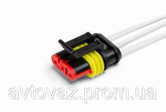 Разъем 3 контактный датчика скорости с проводами гнездовой