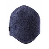 Зимняя шапка-бини для мальчика Lassie by Reima Migos 728764-6951. Размеры 46/48, 50/52 и 54/56., фото 3