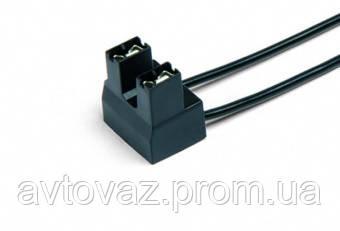 Разъем 2 контактный к лампе Н7 с боковым креплением, с проводами (аналог AMP 926319-1)