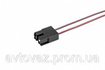 Разъем 2 контактный к лампе Н7 прямой, с проводами (аналог АМP 926521)