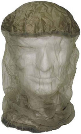 Москитная сетка на голову для защиты от насекомых MFH 10463, фото 2
