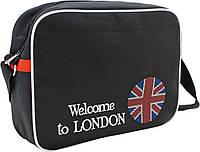 """Школьная сумка """"Yes!"""" /551848/ W128 """"England Flag"""", 1 Вересня"""