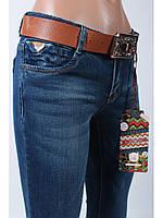 Джинсы женские с ремнем/джинсы стрейчевые/джинсы узкие/ Moon Girl 6952