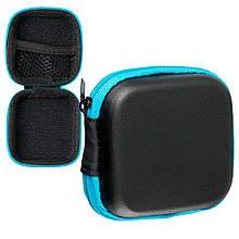 Чехол PC SK для наушников Mini Blue