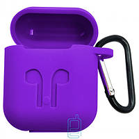 Футляр для наушников Airpod Full Case фиолетовый