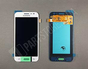 Дисплей Samsung j200 white j2 2015 (GH97-17940A) сервисный оригинал, фото 2