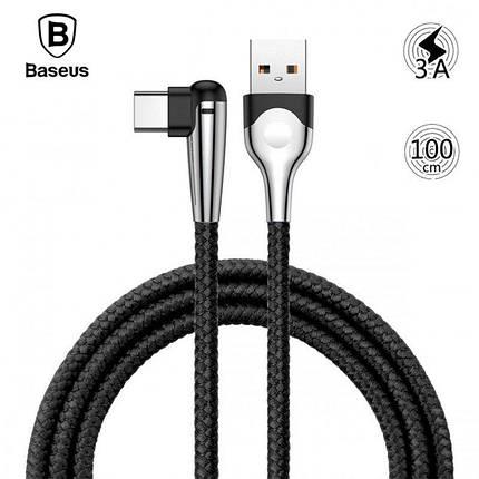 Кабель USB Type-C Baseus MVP Mobile game с угловым коннектором для зарядки и передачи данных CATMVP (1м), фото 2