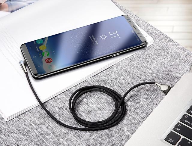 Кабель USB Type-C Baseus MVP Mobile game с угловым коннектором для для зарядки и передачи данных CATMVP-D03 (Красный, 1м)