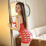 """Сексуальное сетчатое платье """"Альба""""14426 для Вашей фигурки, фото 5"""