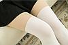 Колготки имитация чулок женские белые 086, фото 5