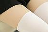 Колготки имитация чулок женские белые 086, фото 7