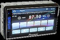 Автомагнитола 2din Pioneer 7024 GPS USB + SD + Bluetooth - (Без Карт Навигации) - Короткая база, фото 1