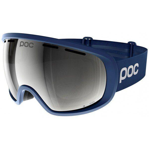 Маска горнолыжная POC - Fovea Clarity Comp AD Lead Blue/Spektris Silver (PC 404418179ONE1)