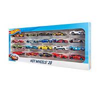 Набор из 20 машинок Хот Вилс Hot Wheels 20 Car Gift Pack