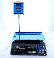 Весы ACS 50kg/5g + pole 308 Domotec, Торговые весы, Весы до 50 кг, Электронные торговые весы, фото 1