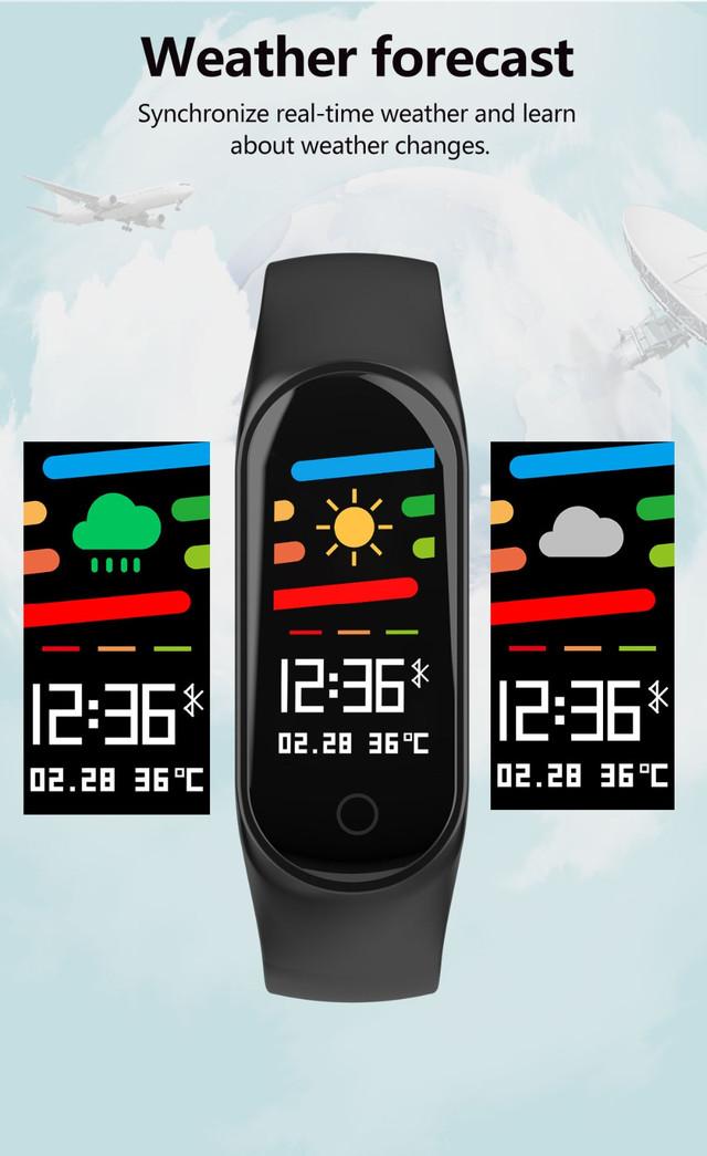 Смарт фитнес-браслет Lemfo M3s с цветным 0,96 дюймовым экраном
