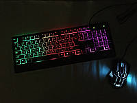 Клавиатура LED GAMING KEYBOARD+Mouse M 710, фото 1