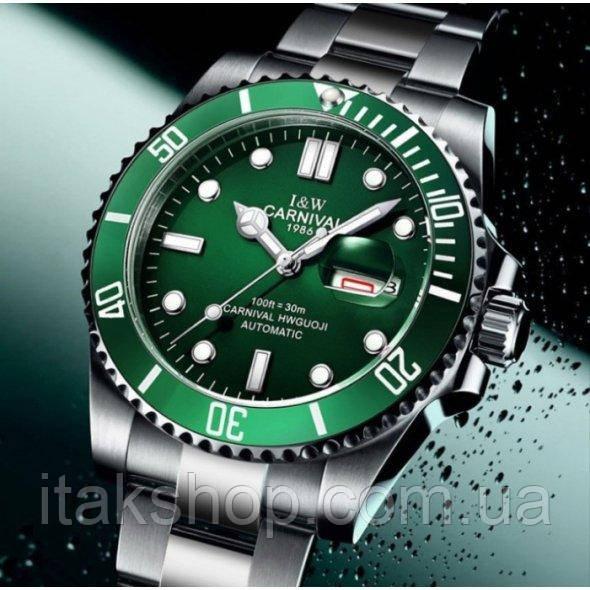 Мужские наручные часы Carnival Green