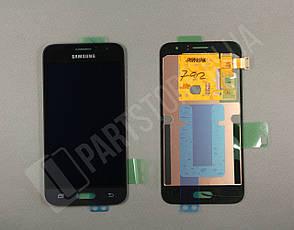 Дисплей Samsung j120 Black j1 2016 (GH97-18224C) сервисный оригинал, фото 2